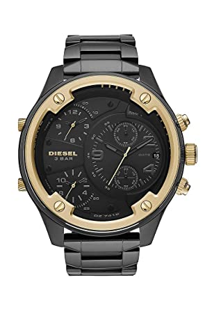 Amazon.com: Diesel Mens Chronograph Quartz Watch with ...