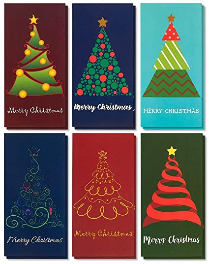 Amazon 36 pack merry christmas holiday greeting card xmas 36 pack merry christmas holiday greeting card xmas money and gift card holder cards m4hsunfo