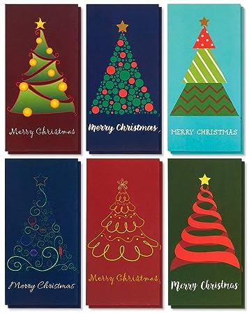 Amazon Com 36 Pack Merry Christmas Holiday Greeting Card Xmas