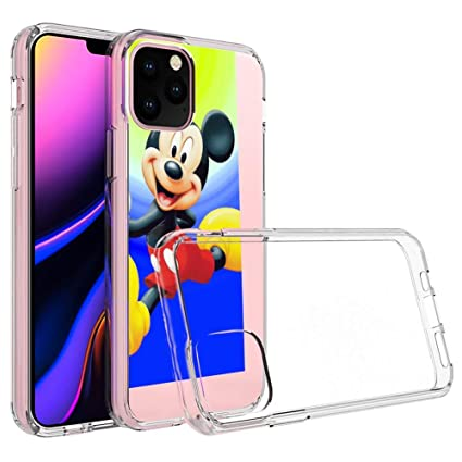 Amazon Com Disney Collection Clear Crystal Iphone 11 Pro