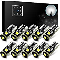 SiriusLED Extremely Bright 3030 Chipset LED Bulbs for Car...