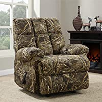 Deals on Dorel Living Realtree Camouflage Rocker Recliner