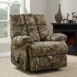 Dorel Living Realtree Camouflaged Rocker Recliner