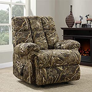 Dorel Living Real Tree Camouflaged Rocker Recliner