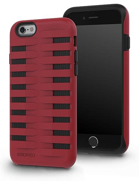 gadgeo - Carcasa rígida para iPhone 6 y 6S (Resistente a los ...