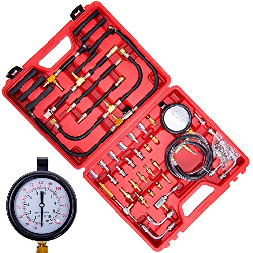 Fuel Kit Injection Update (OrionMotorTech 0-140 PSI Fuel Pressure Gauge Tester Tool Kit)