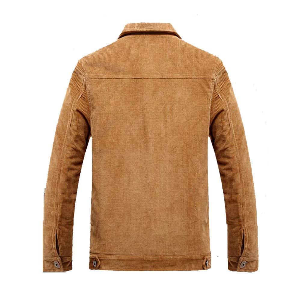 Chaqueta de pana para hombre, otoño invierno, moda, abrigo ...
