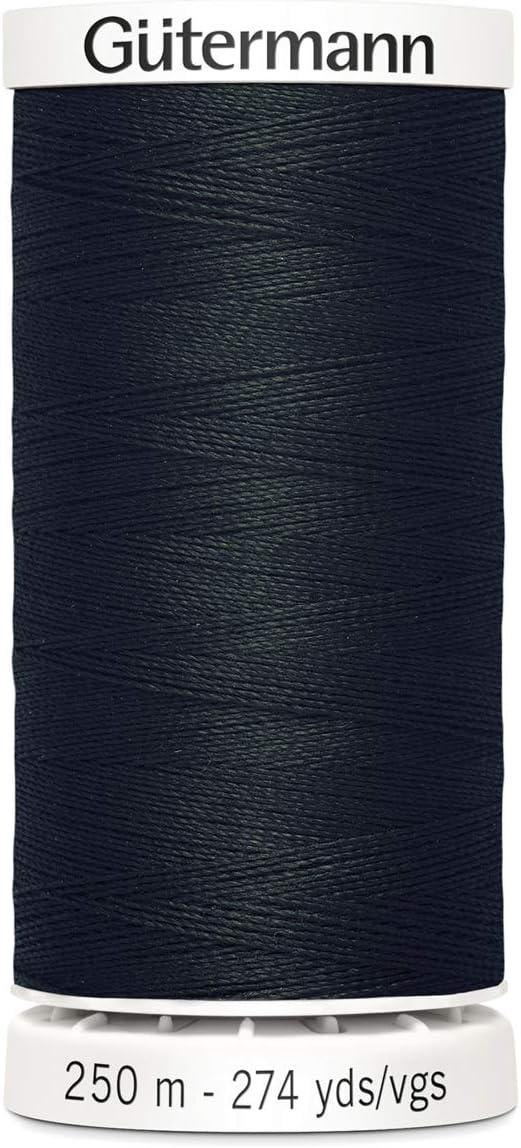 Gutermann Sew alle Polyester Gewinde 250/mtr , 0701 Schwalbenschwanz grau