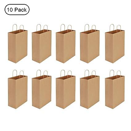 Bolsas de papel de estraza para regalo (10 unidades) Bolsas ...