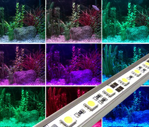 Colour changing led aquarium lights with wireless controller colour changing led aquarium lights with wireless controller aluminium rigid bar tube light aloadofball Image collections