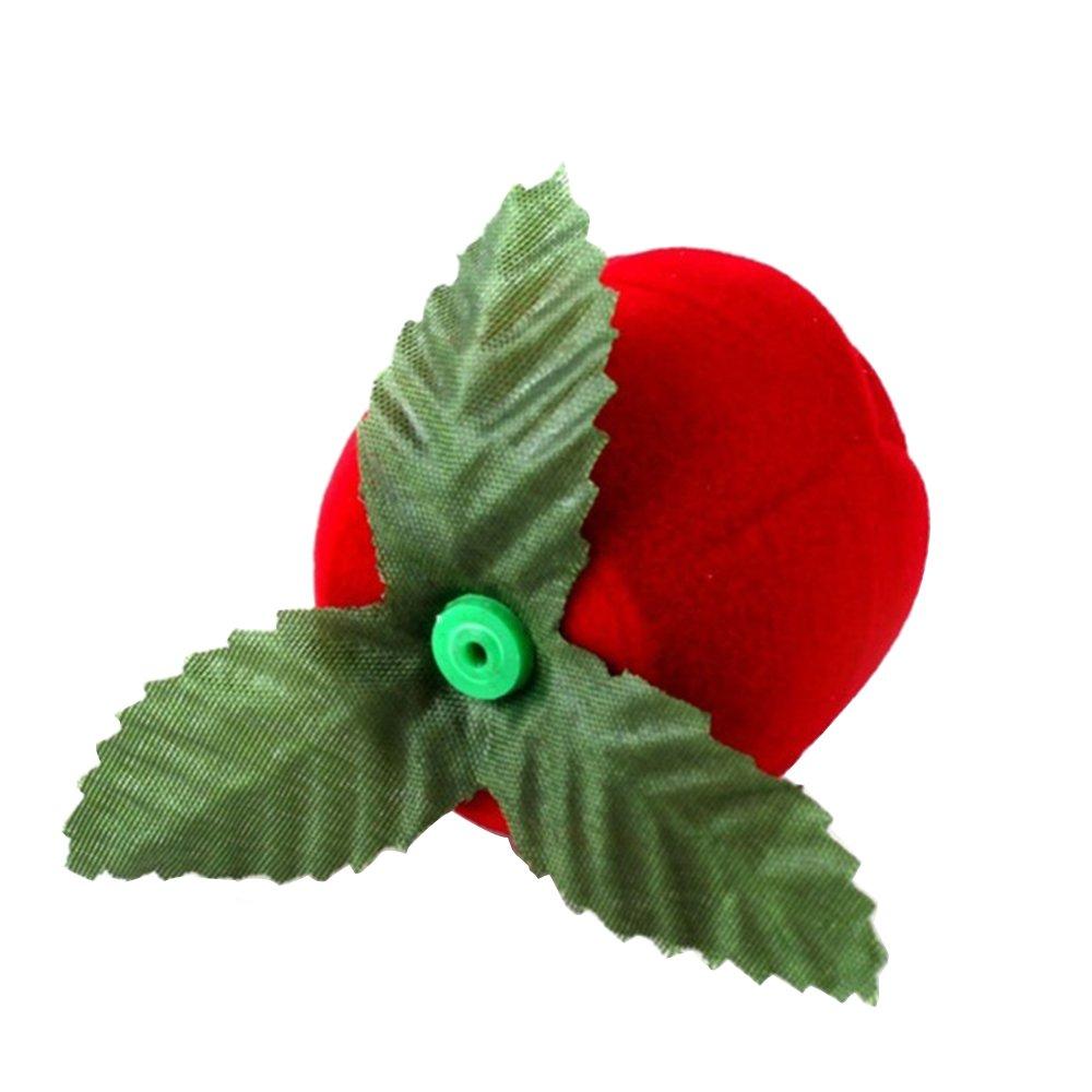 boucles doreilles anniversaire pendentifs mariage colliers Pour fian/çailles Profusion Circle Bo/îte /à bijoux en forme de rose rouge pour bague