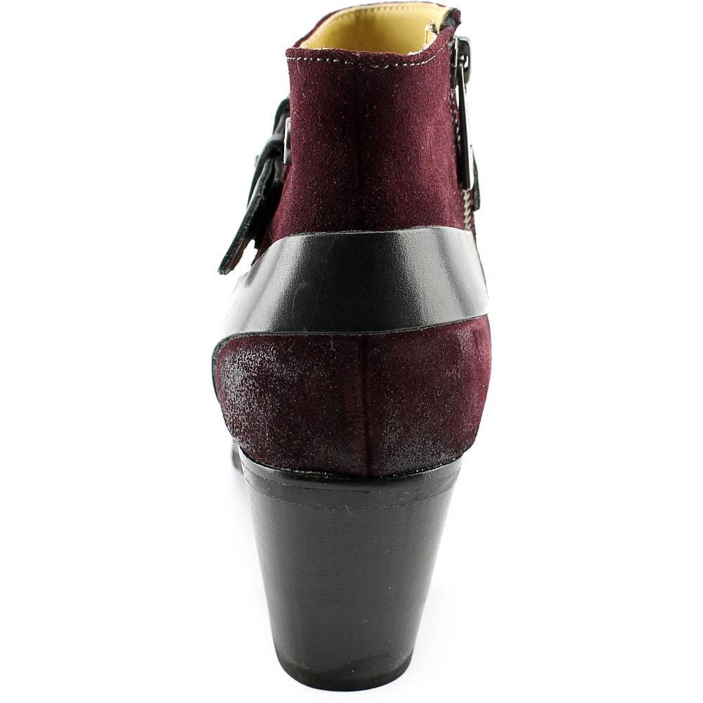 Bussola Style Reikia Vik Women US 8.5 Burgundy Ankle Boot EU 39