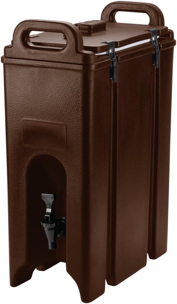 Cambro 500LCD131 Dark Brown 4.75 Gallon Camtainer Insulated Beverage Dispenser
