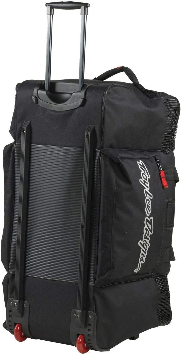 Black Troy Lee Designs SE Wheeled Gear Bag
