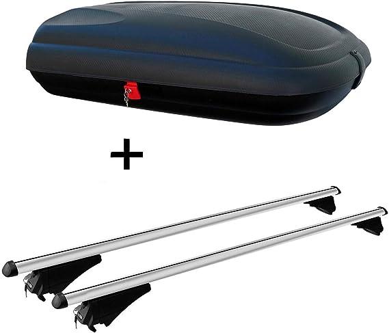Vdp Alu Ca320 Dachbox Dachträger Tiger Kompatibel Mit Seat Leon St Ab 2012 Aufliegende Dachreling Auto