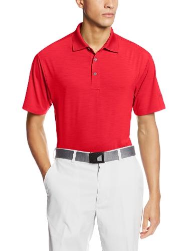 Ben Hogan Men's Golf Performance Edge Solid Short Sleeve Polo Shirt, Ski Patrol, X-Large