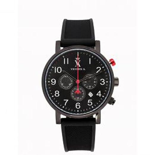 A. Vicomte-Reloj Vicomte A., Chrono, cuadro de acero y pulsera para hombre acero, 3,8 cm: Amazon.es: Relojes