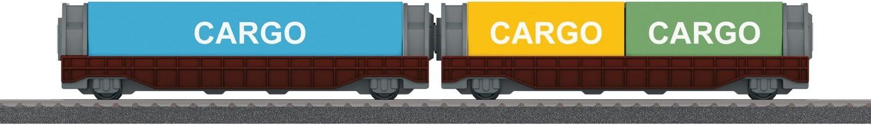 modellini di ferrovie parti e accessori Wagon, M/ärklin, arancia M/ärklin 44103