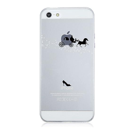 ebeeaf6d27b Caler Funda iPhone SE 5S 5 Case, Suave TPU Gel Silicona Ultra-Delgado Ligera
