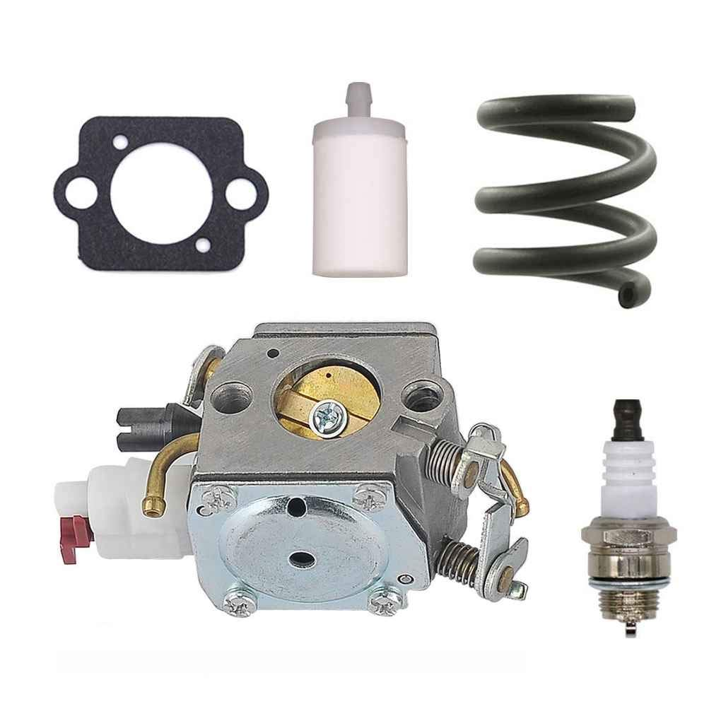 Carburetor Carb Gasket Fuel Filter for Husqvarna 340 345 346 350 353 for Zama Chainsaw 503283208