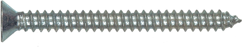 12-Pack 6 x 1-1//4-Inch The Hillman Group 490264 Flat Head Phillips Sheet Metal Screw