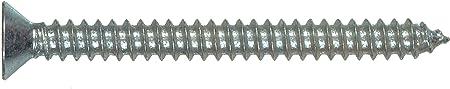 12 x 2-1//2-Inch The Hillman Group 490285 Flat Head Phillips Sheet Metal Screw 3-Pack