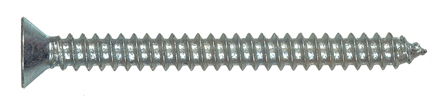 24-Pack 4 x 1//2-Inch The Hillman Group 490259 Flat Head Phillips Sheet Metal Screw