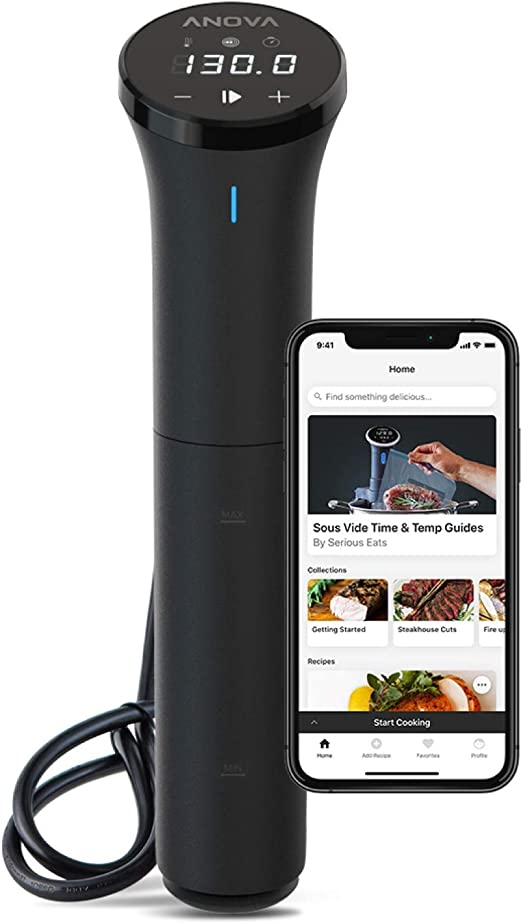 Anova Culinary Sous Vide Precision Cooker Nano | Bluetooth | 750W | Anova App Included