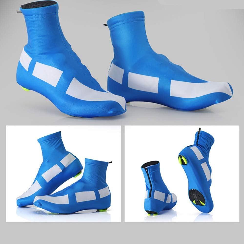 HHHKKK Cubre Zapatos Cubrezapatillas Ciclismo MTB Cubrezapatillas, Cubierta de Zapatos de Bloqueo de Ciclismo en Invierno Cubrebotas MTB Impermeable A Prueba de Viento: Amazon.es: Deportes y aire libre