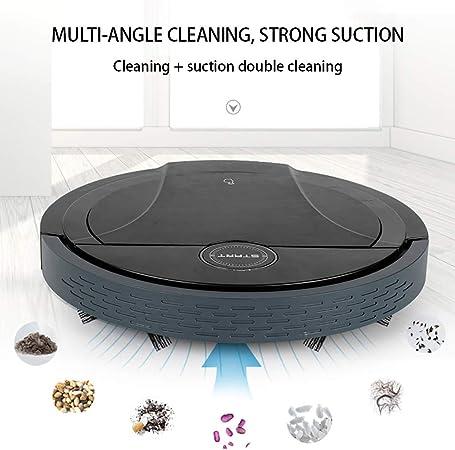 Robot Aspirador, Robot de Barrido Inteligente para Limpiar el Suelo y Limpiar el Polvo de Auto aspiración, aspiradora robótica autocargable: Amazon.es: Hogar