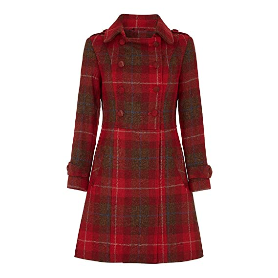 1940s Coats & Jackets Fashion History Ladies Harris Tweed Coat $649.00 AT vintagedancer.com