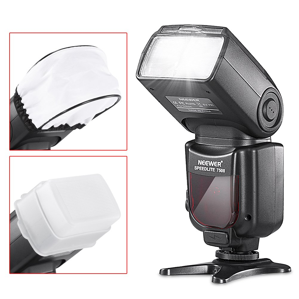 Neewer/® PRO i-TTL Flash *Deluxe Kit* for NIKON DSLR D7100 D7000 D5300 D5200 D5100 D5000 D3200 D3100 D3300 D90 D800 D700 D300 D300S D610 D4 D3S D3X D3 D200 N90S F5 F6 F100 F90 F90X D4S D SLR Camera- Includes: 2 Neewer Auto-Focus Flashes D600 Wireles