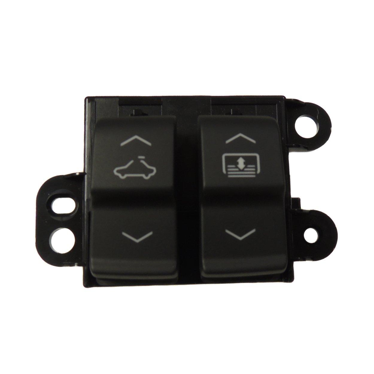 22799503 Overhead Console Sunroof Switch 2014-16 Chevrolet Impala General Motors