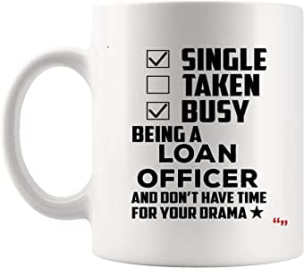 Being New Loan Officer Mug Coffee Cup Officers Graduate Student Mugs - Loans Mortgage Loan Originators bank Graduation Gift Back To School