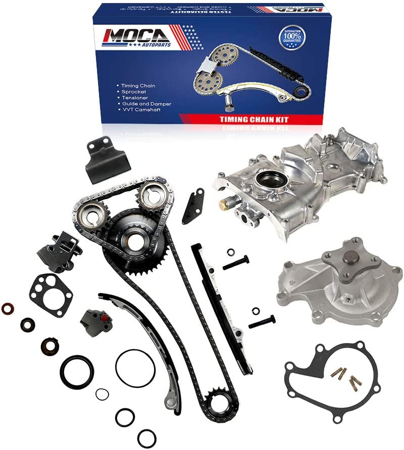 Engine Parts MOCA New Timing Chain Kit & Water Oil Pump for 1991 ...