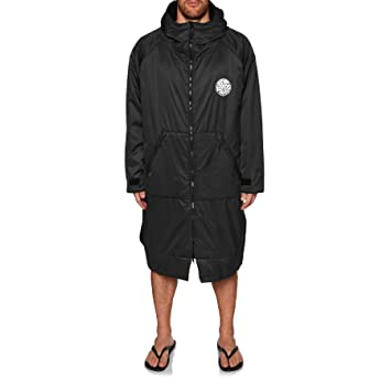 Rip Curl 2018 Winter Surf Poncho/Change Robe BLACK CTWAW4 Mens Wetsuits Size - M