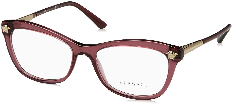7278b664eb Amazon.com  Versace Women s VE3224 Eyeglasses 54mm  Clothing