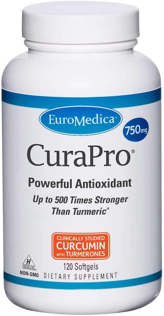 EuroMedica – CuraPro 750 mg 120 softgels Health and Beauty by Euromedica