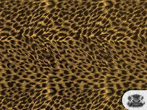 Vinyl Cheetah Fake Leather Upholstery 54