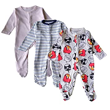 d5de38780 Obra Prima 100% Soft Premium Cotton Baby Romper Full Sleep Suit ...