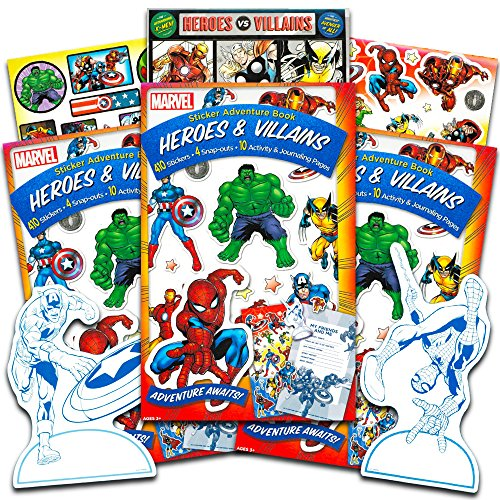 - Marvel Heroes Stickers -- Over 600 Reward Stickers Featuring Avengers, Spiderman, X-Men and More!