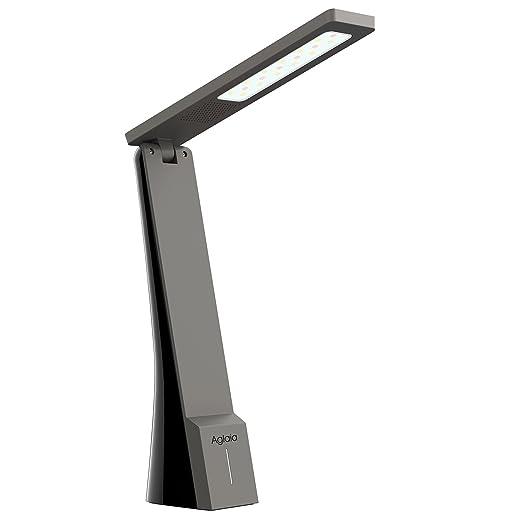 112 opinioni per Aglaia Lampada da Tavolo Ricaricabile e Portatile, 4W Lampada LED da Scrivania e