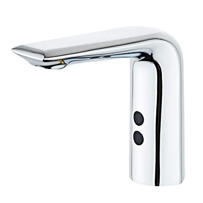 2 Hoses Automatic Sensor Faucet Bathroom Basin Faucet Cold Water Tap Sink Tap