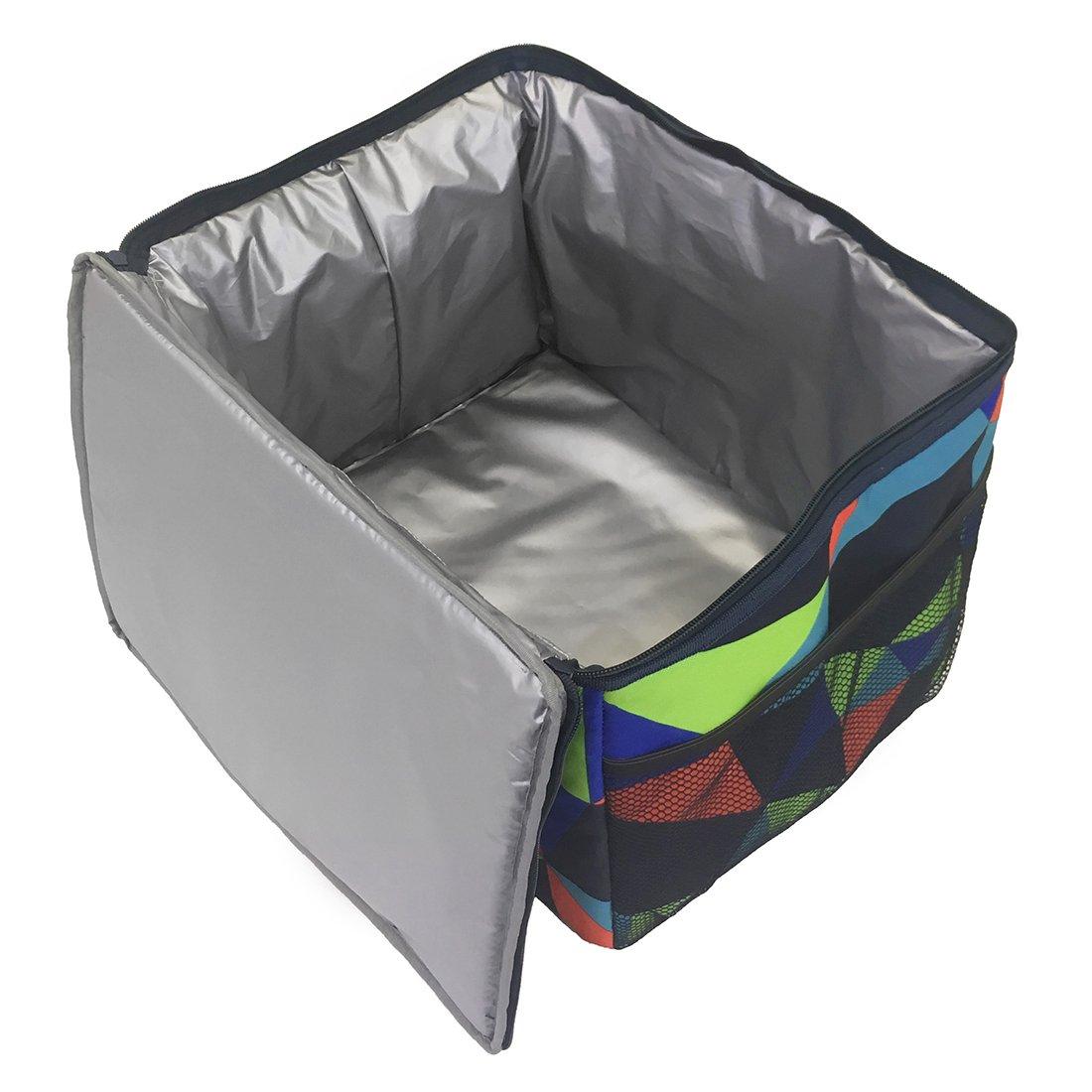 Portal Aspen Electro passive K/ühltasche 45x30x30cm 36L K/ühlbox Eistasche Thermotasche Picknicktasche