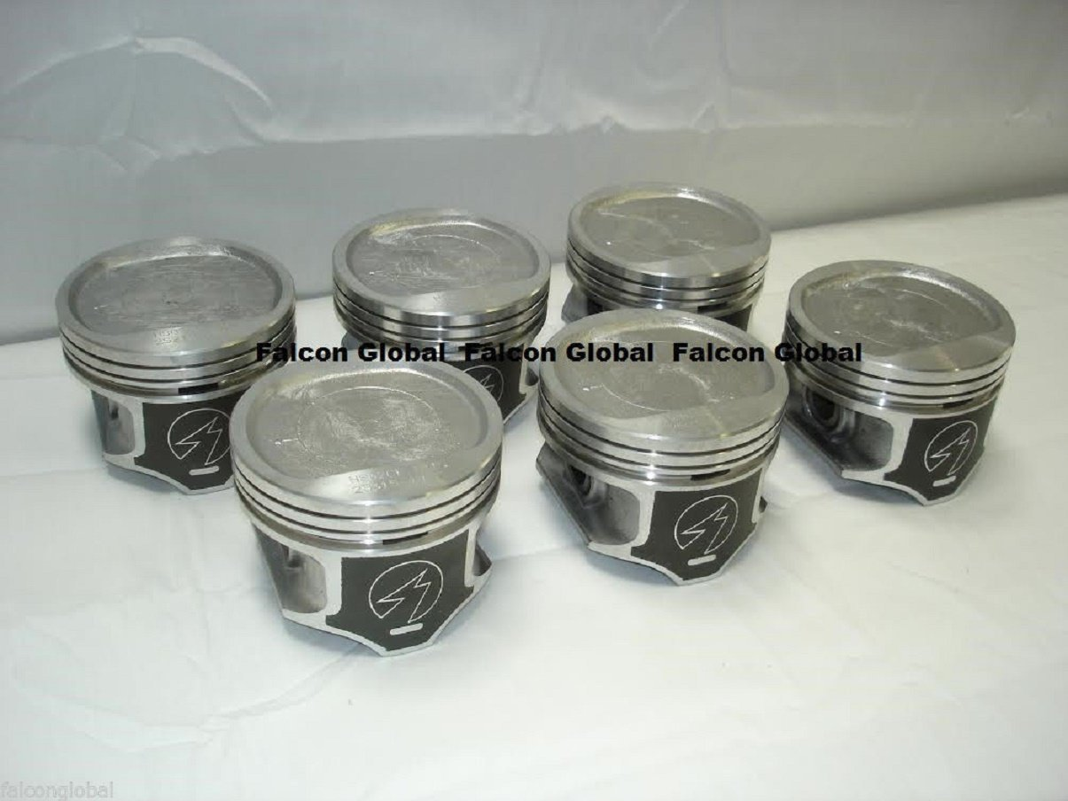Jeep Cherokee Wagoneer 4.0 4.0L 242 Sealed Power Pistons Set of (6) 1996-2006. (.020' Bore 3.895') Sealed Power/Speed Pro