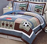 PEM America Field Sports 2 piece Twin Quilt Set
