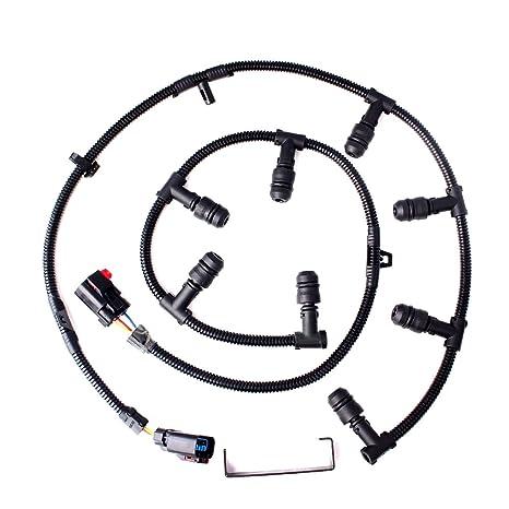 61KkF2fSueL._SX466_ amazon com for ford 6 0 powerstroke glow plug wire harness left