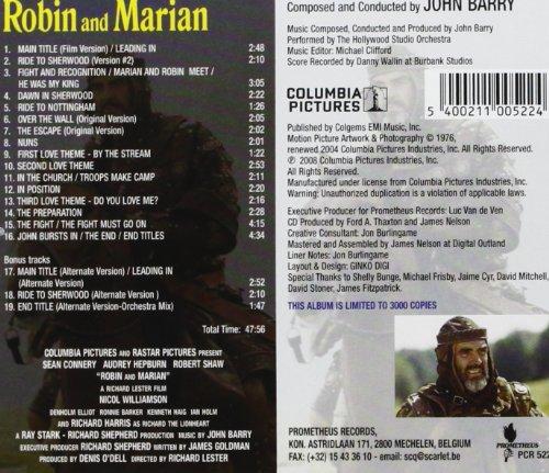 Robin and Marian (Original Soundtrack)