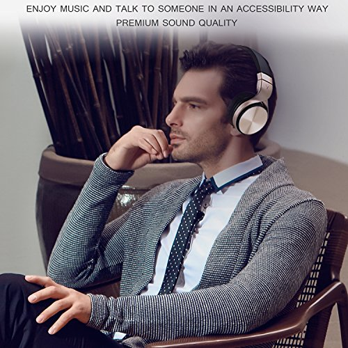 riwbox in5 foldable headphones with microphone and volume control stereo folding headset strong. Black Bedroom Furniture Sets. Home Design Ideas