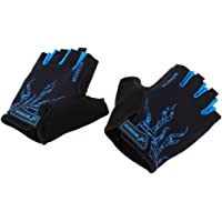 Dolity Half Finger Cycling Gloves Sports Racing MTB Bicycle Short Gloves for Road Bike, Mountain Biking, Riding, Gym, Fitness